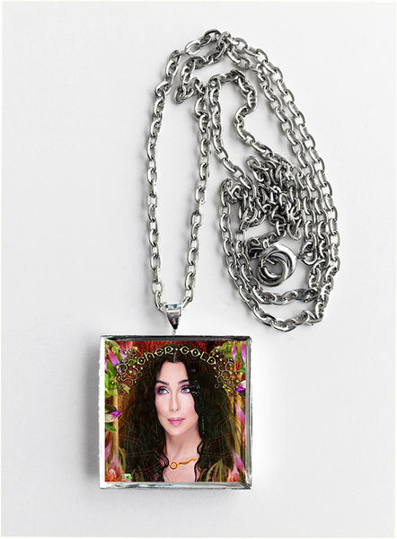Cher - Gold - Album Cover Art Pendant Necklace