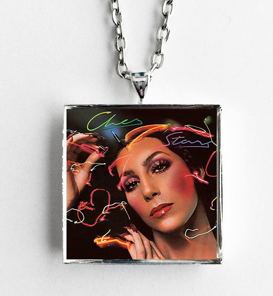 Cher - Stars - Album Cover Art Pendant Necklace - Hollee