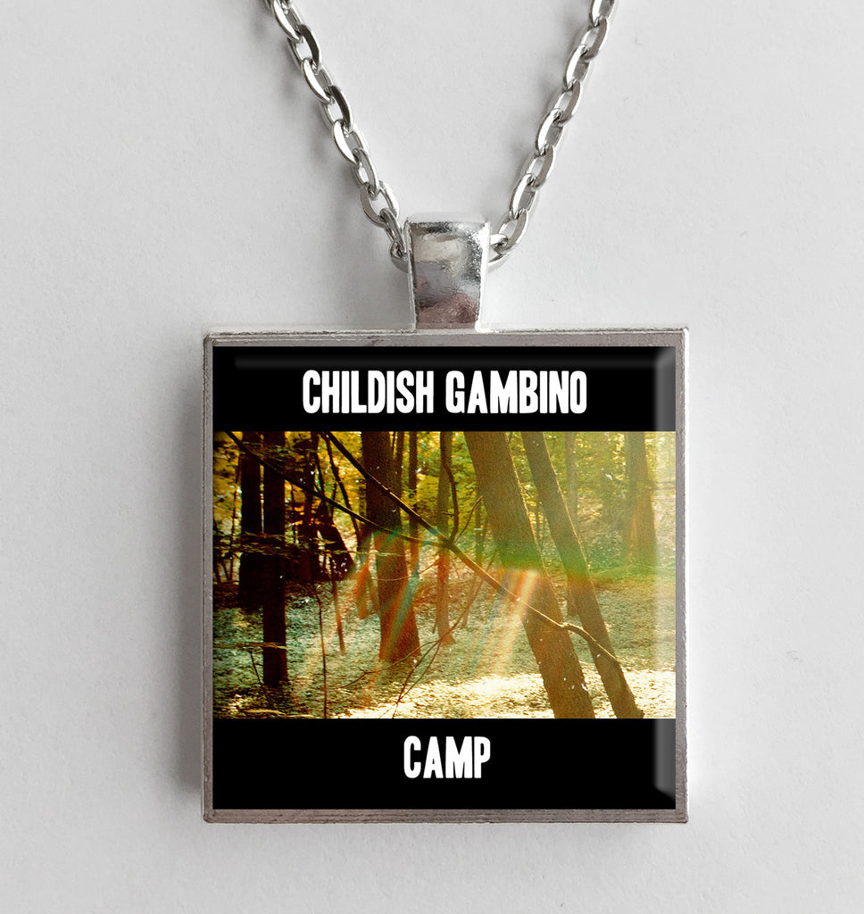 Childish Gambino - Camp - Album Cover Art Pendant Necklace - Hollee
