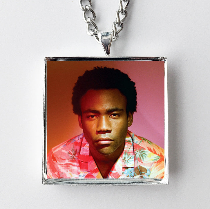 Childish Gambino - Because the Internet - Album Cover Art Pendant Necklace
