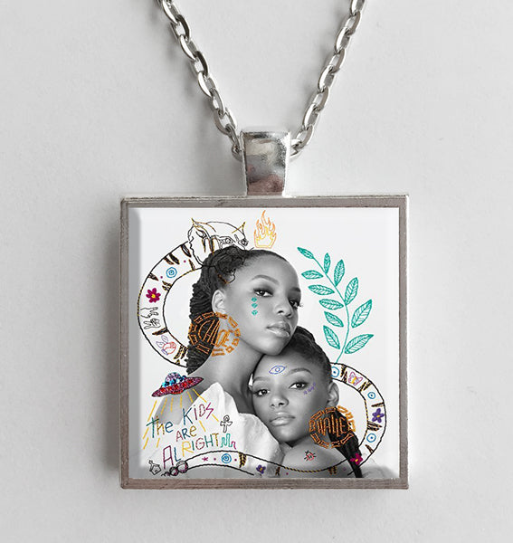 CHLOE X HALLE - The Kids Are Alright- Album Cover Art Pendant Necklace - Hollee