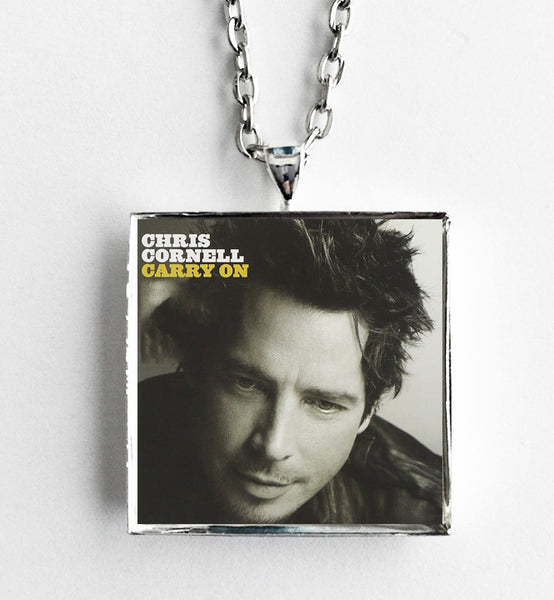 Chris Cornell - Carry On - Album Cover Art Pendant Necklace - Hollee