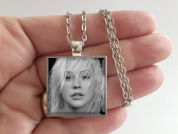 Christina Aguilera - Liberation - Album Cover Art Pendant Necklace