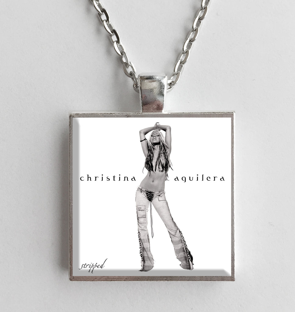 Christina Aguilera - Stripped - Album Cover Art Pendant Necklace - Hollee