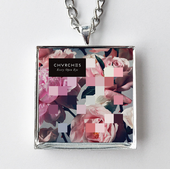 Chvrches - Every Open Eye - Album Cover Art Pendant Necklace