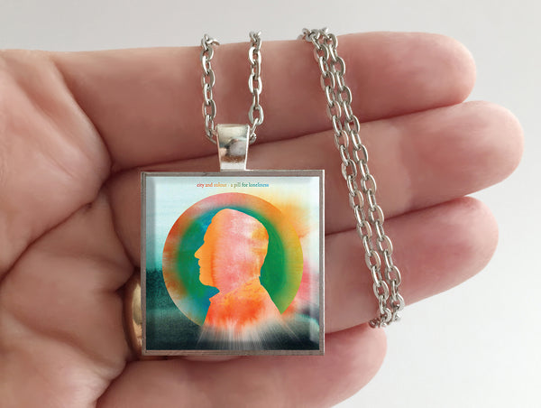 City and Colour - A Pill for Loneliness - Album Cover Art Pendant Necklace - Hollee