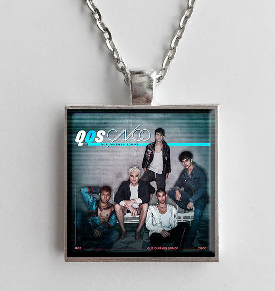 CNCO - Que Quienes Somos - Album Cover Art Pendant Necklace - Hollee