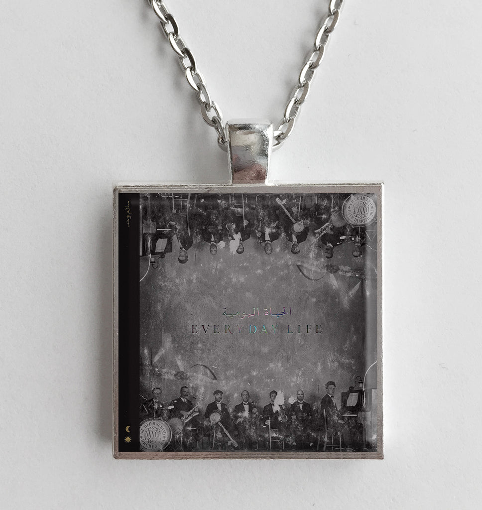 Coldplay - Everyday Life - Album Cover Art Pendant Necklace - Hollee
