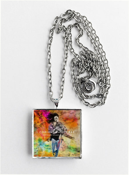Corinne Bailey Rae - The Heart Speaks In Whispers - Album Cover Art Pendant Necklace - Hollee