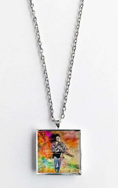 Corinne Bailey Rae - The Heart Speaks In Whispers - Album Cover Art Pendant Necklace