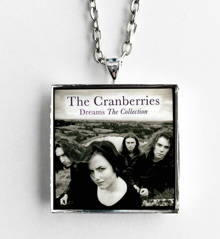 The Cranberries - Dreams The Collection - Album Cover Art Pendant Necklace - Hollee