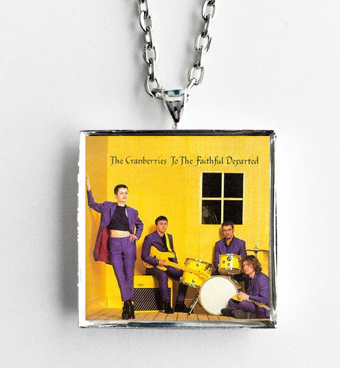 The Cranberries - To The Faithful Departed - Album Cover Art Pendant Necklace