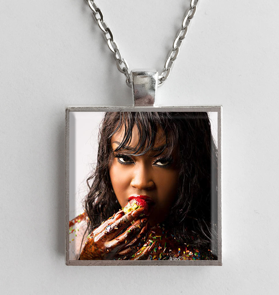 Cupcakkee - Eden - Album Cover Art Pendant Necklace - Hollee