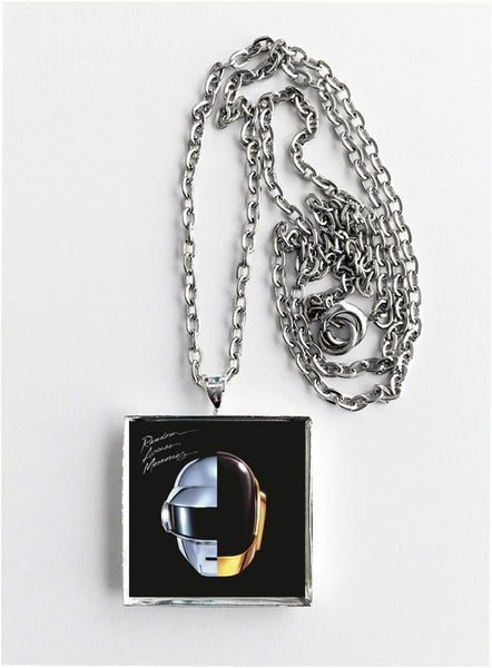 Daft Punk - Random Access Memories - Album Cover Art Pendant Necklace - Hollee