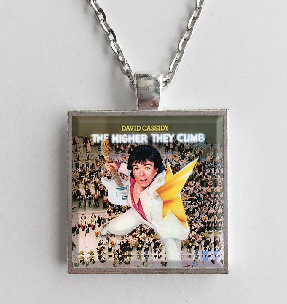 David Cassidy - The Higher They Climb - Album Cover Art Pendant Necklace - Hollee