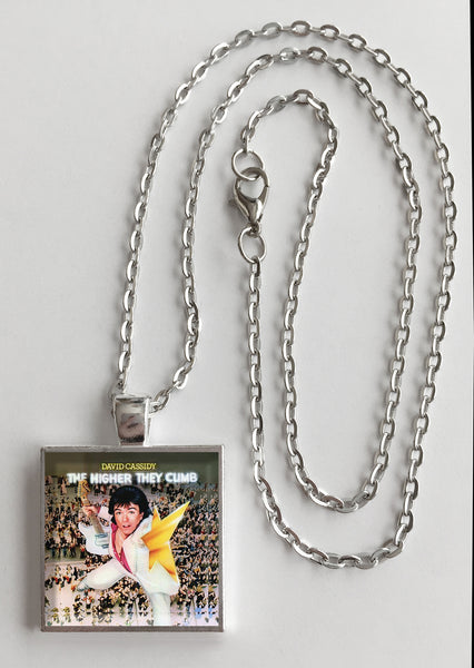 David Cassidy - The Higher They Climb - Album Cover Art Pendant Necklace