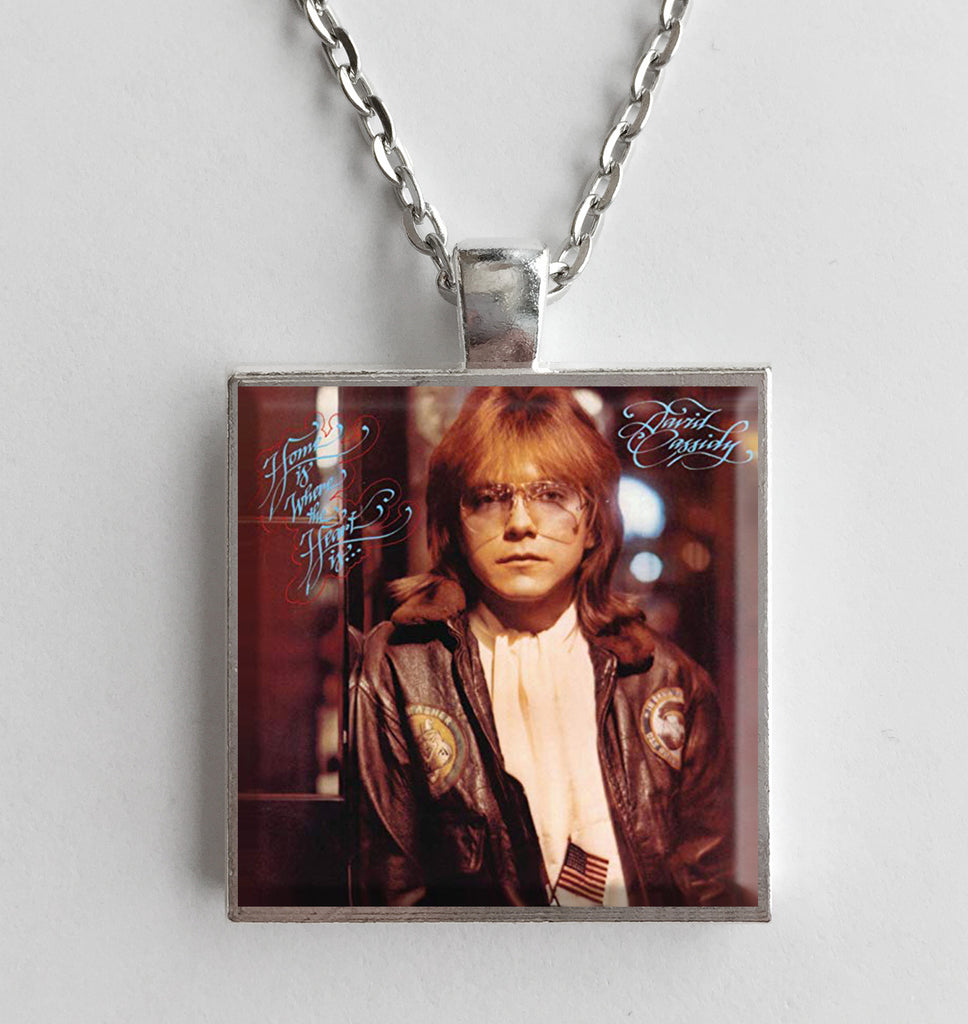 David Cassidy - Home Is Where the Heart Is - Album Cover Art Pendant Necklace - Hollee