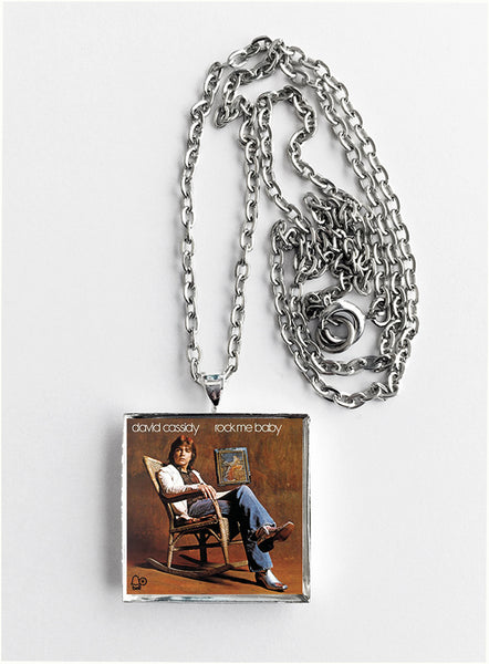 David Cassidy - Rock Me Baby - Album Cover Art Pendant Necklace