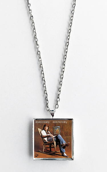David Cassidy - Rock Me Baby - Album Cover Art Pendant Necklace - Hollee