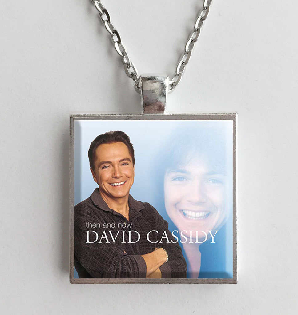 David Cassidy - Then and Now - Album Cover Art Pendant Necklace - Hollee