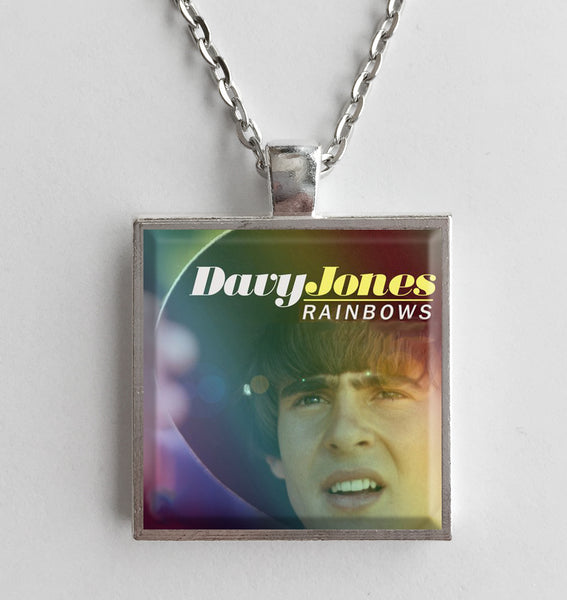 Davy Jones - Rainbows - Album Cover Art Pendant Necklace - Hollee