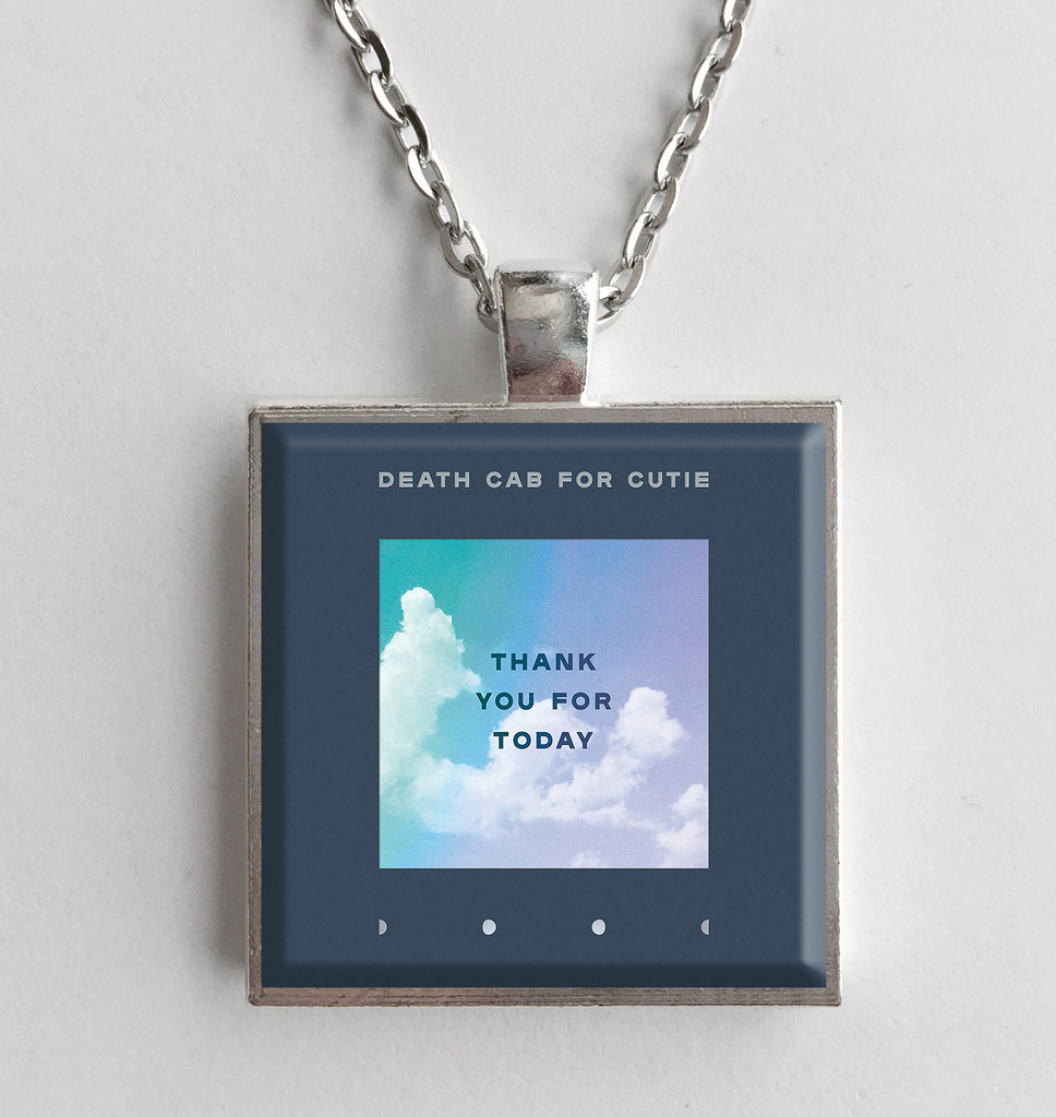 Death Cab For Cutie -  Thank You For Today - Album Cover Art Pendant Necklace - Hollee