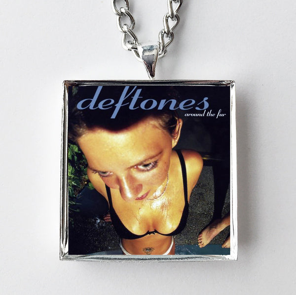 Deftones - Around the Fur - Album Cover Art Pendant Necklace