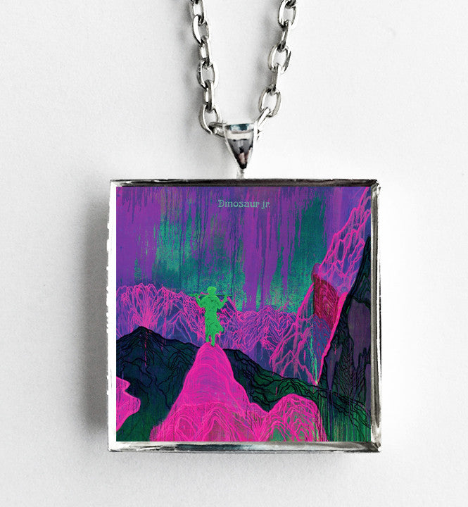 Dinosaur Jr. - Give a Glimpse of What Yer Not  - Album Cover Art Pendant Necklace - Hollee