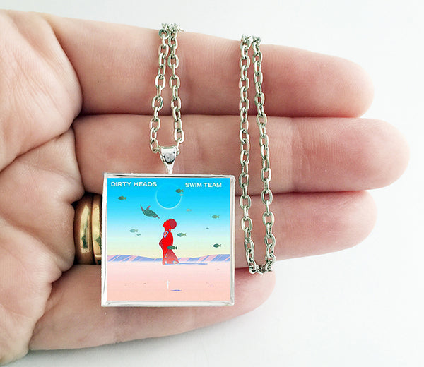 Dirty Heads - Swim Team - Album Cover Art Pendant Necklace - Hollee
