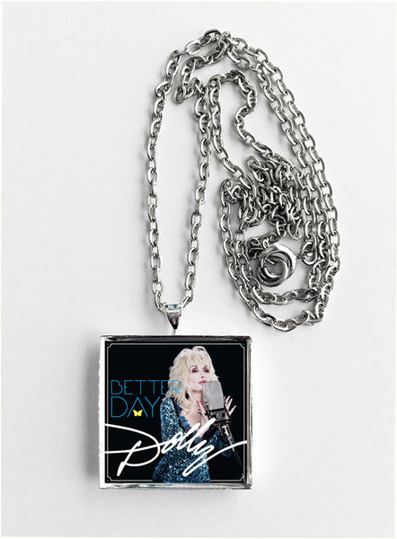 Dolly Parton - Better Day - Album Cover Art Pendant Necklace - Hollee