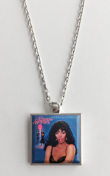 Donna Summer - Bad Girls - Album Cover Art Pendant Necklace
