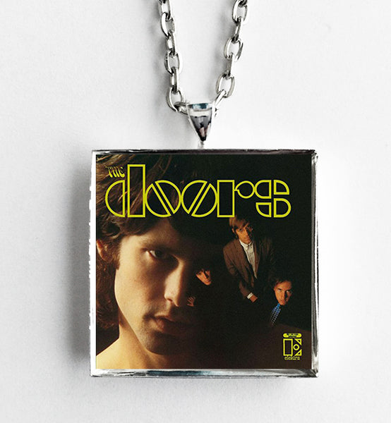 The Doors - Self Titled - Album Cover Art Pendant Necklace - Hollee