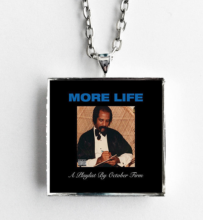 Drake - More Life - Album Cover Art Pendant Necklace - Hollee