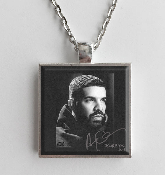Drake - Scorpion - Album Cover Art Pendant Necklace - Hollee