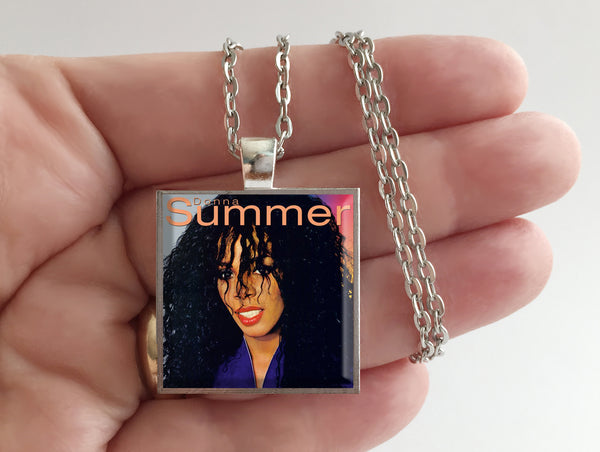Donna Summer - Self Titled - Album Cover Art Pendant Necklace - Hollee