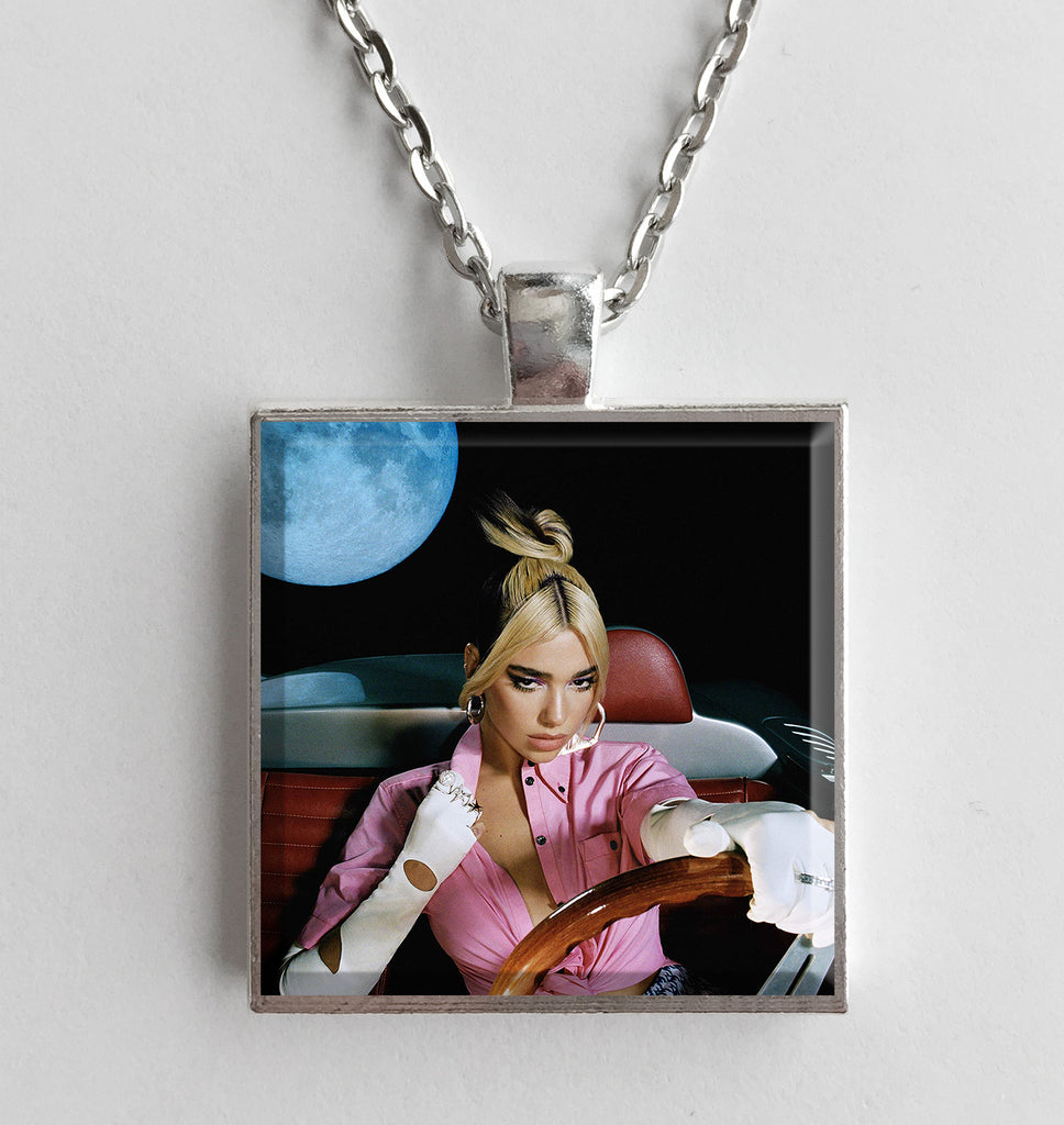 Dua Lipa - Future Nostalgia - Album Cover Art Pendant Necklace - Hollee
