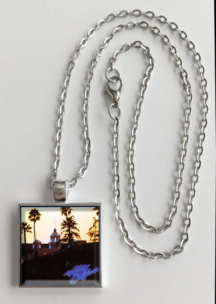 The Eagles - Hotel California - Album Cover Art Pendant Necklace - Hollee