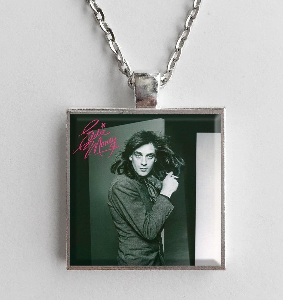 Eddie Money - Self Titled - Album Cover Art Pendant Necklace - Hollee