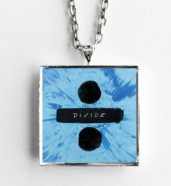 Ed Sheeran - Divide - Album Cover Art Pendant Necklace - Hollee