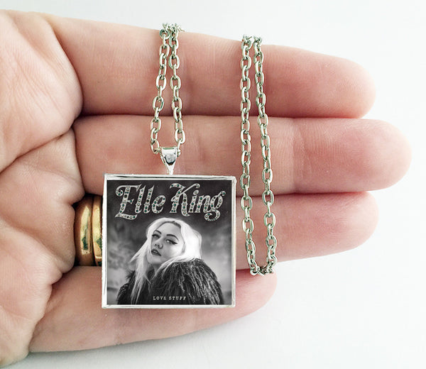 Elle King - Love Stuff - Album Cover Art Pendant Necklace - Hollee