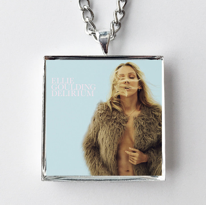 Ellie Goulding - Delirium - Album Cover Art Pendant Necklace - Hollee
