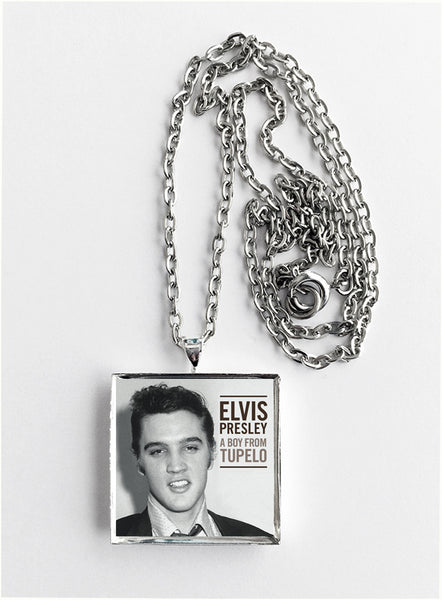 Elvis Presley - A Boy from Tupelo - Album Cover Art Pendant Necklace - Hollee