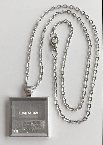 Eminem - The Marshall Mathers LP - Album Cover Art Pendant Necklace - Hollee