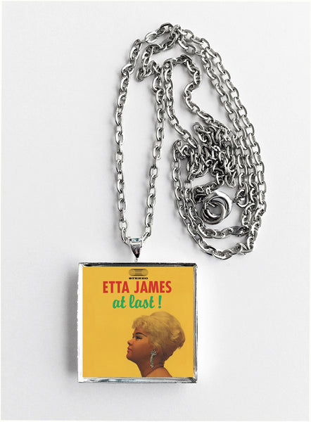 Etta James - At Last - Album Cover Art Pendant Necklace - Hollee