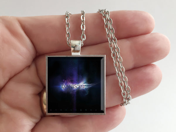 Evanescence - Self Titled - Album Cover Art Pendant Necklace - Hollee