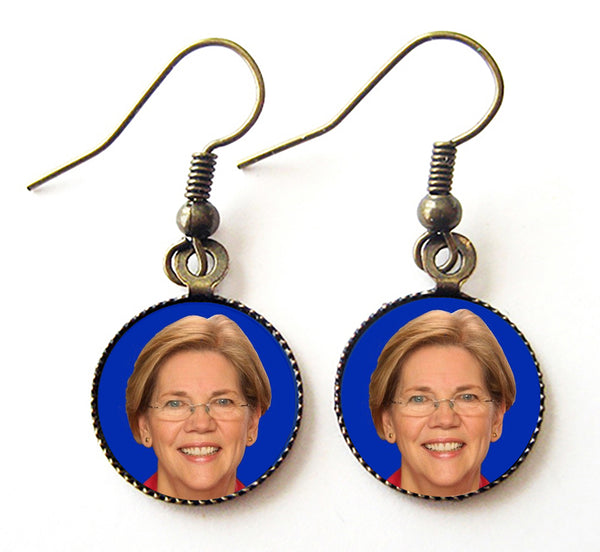 Elizabeth Warren for President Campaign Earrings - Hollee