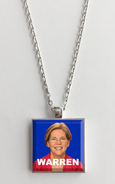 Elizabeth Warren for President Campaign Pendant Necklace
