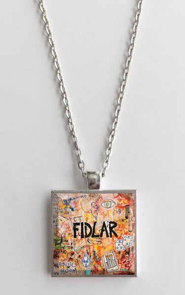 Fidlar - Too - Album Cover Art Pendant Necklace - Hollee