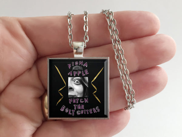 Fiona Apple - Fetch the Bolt Cutters- Album Cover Art Pendant Necklace - Hollee