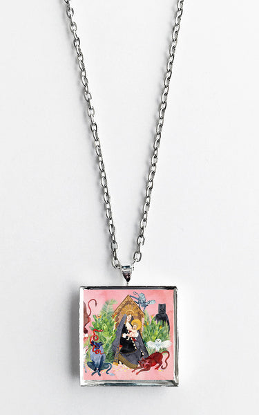 Father John Misty - I Love You, Honeybear - Album Cover Art Pendant Necklace - Hollee
